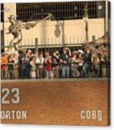 Ty Cobb Acrylic Print