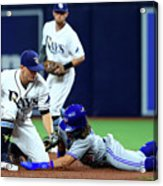 Willy Adames Acrylic Print