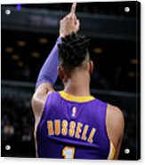 D'angelo Russell Acrylic Print