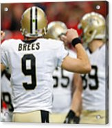 New Orleans Saints v Atlanta Falcons Acrylic Print