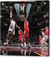 Lebron James Acrylic Print