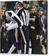 NFL: JAN 21 NFC Championship Game - Vikings at Eagles Acrylic Print