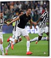 Juventus v Atalanta BC - Serie A Acrylic Print