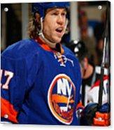 Montreal Canadiens v New York Islanders Acrylic Print