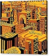 The New Yorker Magazine Cover Acrylic Print