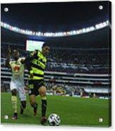 America v Santos Laguna - Torneo Apertura 2016 Liga MX Acrylic Print