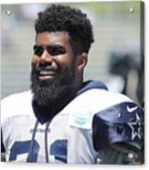 Dallas Cowboys Training Camp Acrylic Print