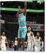 Dallas Mavericks v Charlotte Hornets Acrylic Print