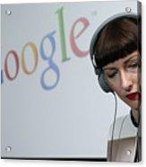 Google Opens New Berlin Office Acrylic Print