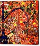 Jinga Monkeys Acrylic Print
