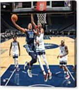 Memphis Grizzlies v Minnesota Timberwolves Acrylic Print