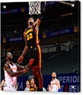 New York Knicks v Atlanta Hawks Acrylic Print