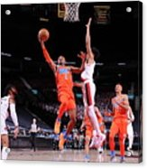 Oklahoma City Thunder v Portland Trail Blazers Acrylic Print