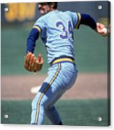 Rollie Fingers Acrylic Print