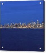 Seattle Skyline, Usa, Washington, Seattle Acrylic Print