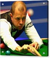 World Snooker Championship - Day Three Acrylic Print