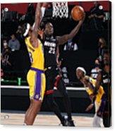 2020 NBA Finals - Los Angeles Lakers v Miami Heat Acrylic Print