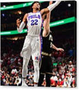 2021 NBA Playoffs - Philadelphia 76ers v Atlanta Hawks Acrylic Print