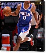 2021 NBA Playoffs - Philadelphia 76ers v Washington Wizards Acrylic Print