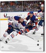 Edmonton Oilers v New York Islanders Acrylic Print