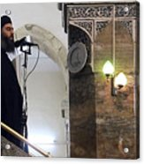 Alleged ISIL leader appears in video footage Acrylic Print