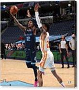Atlanta Hawks v Memphis Grizzlies Acrylic Print