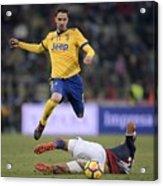 Bologna FC v Juventus - Serie A Acrylic Print
