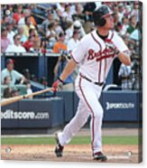 Chipper Jones Acrylic Print