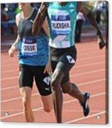 IAAF Diamond League 2016 Acrylic Print
