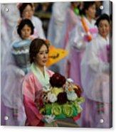 Lantern Festival Celebrates Buddha's Birthday Acrylic Print