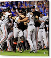 Madison Bumgarner and Buster Posey Acrylic Print