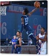 Memphis Grizzlies v Philadelphia 76ers Acrylic Print