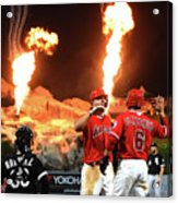 Mike Trout Acrylic Print