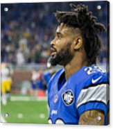 NFL: JAN 01 Packers at Lions Acrylic Print