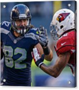 Arizona Cardinals v Seattle Seahawks Acrylic Print