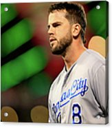 Mike Moustakas Acrylic Print