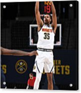 Minnesota Timberwolves v Denver Nuggets Acrylic Print