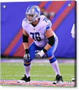 NFL: SEP 18 Lions at Giants Acrylic Print