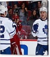 Toronto Maple Leafs v Arizona Coyotes Acrylic Print