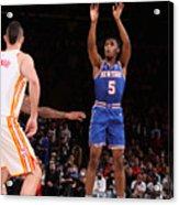 2021 NBA Playoffs - Atlanta Hawks v New York Knicks Acrylic Print