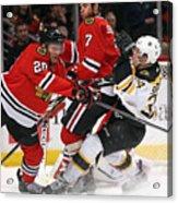 Boston Bruins v Chicago Blackhawks Acrylic Print
