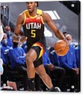 Dallas Mavericks v Utah Jazz Acrylic Print