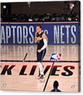 Los Angeles Clippers v Dallas Mavericks - Game Four Acrylic Print