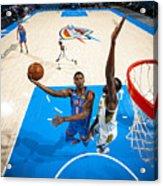 Indiana Pacers v Oklahoma City Thunder Acrylic Print