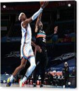 San Antonio Spurs v Oklahoma City Thunder Acrylic Print