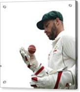 Bangladesh v Australia - 2nd Test: Day 4 Acrylic Print