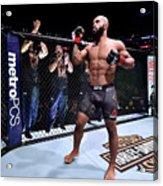 UFC 227: Johnson v Cejudo 2 Acrylic Print