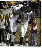 Baltimore Ravens v Pittsburgh Steelers Acrylic Print