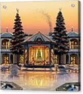 A Warm Home For The Holidays Acrylic Print