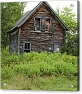 Abandoned Barn - Jefferson New Hampshire  Acrylic Print